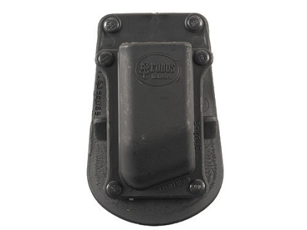 Fobus Paddle Single Magazine Pouch Double-Stack 9mm Luger, 40 S&amp;W Polymer Black