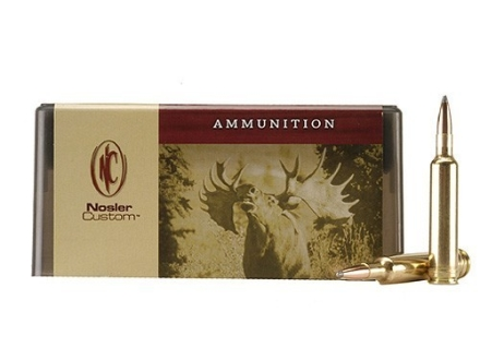 Nosler Custom Ammunition 257 Weatherby Magnum 115 Grain Partition Spitzer Box of 20