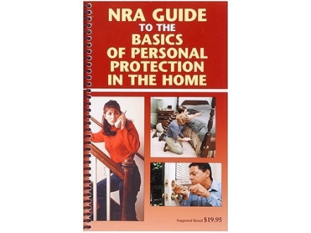 """NRA Guide To Personal Protection in the Home"" Book"