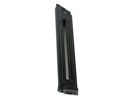 Mec-Gar Magazine Ruger Mark II 22 Long Rifle 10-Round Steel Blue