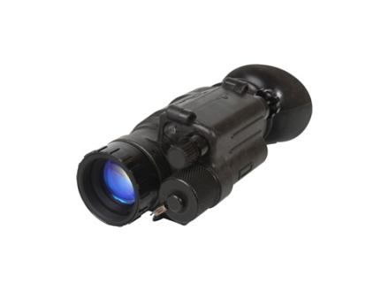 Sightmark AN/PVS-14 3rd Generation Night Vision Grade A Monocular 1x 24mm Black with Helmet Mount Adapter and Head Mount