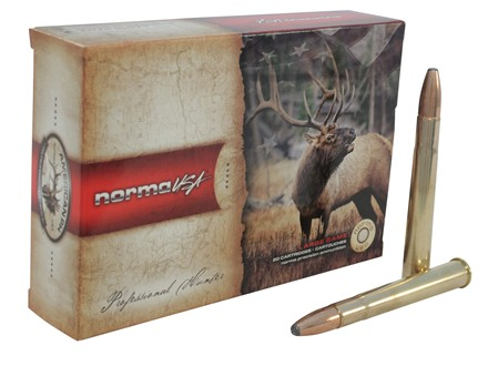Norma USA American PH Ammunition 9.3x74mm Rimmed 286 Grain Oryx Protected Point Box of 20