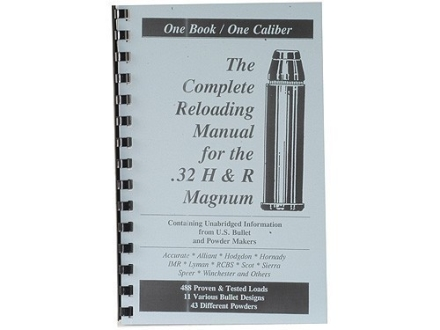 Loadbooks USA &quot;32 H&amp;R Magnum&quot; Reloading Manual