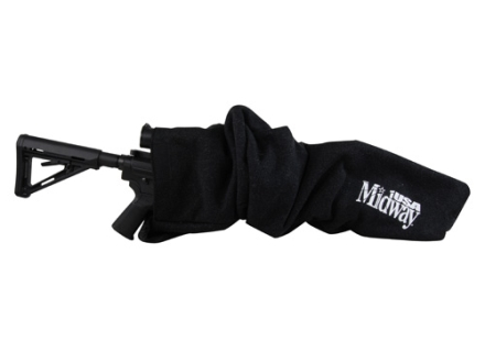 MidwayUSA Silicone Impregnated Scoped Rifle Gun Case 40&quot; Polyester Dark Gray