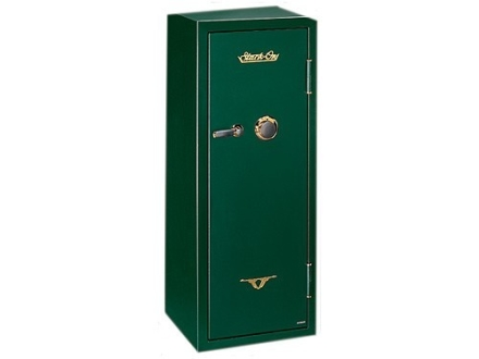 Stack-On Elite 16-Gun Fire-Resistant Safe with Combination Lock &amp; Flex Interior Hunter Green