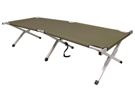 5ive Star Gear Heavy Duty Folding Cot Aluminum Frame Nylon Cover Olive Drab