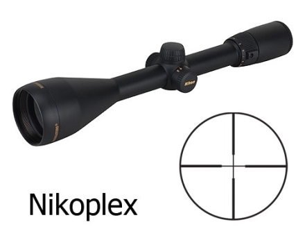 Nikon Buckmasters Rifle Scope 4-12x 50mm Side Focus Nikoplex Reticle Matte