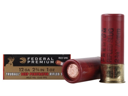 Federal Premium Rifle and Slug Ammunition