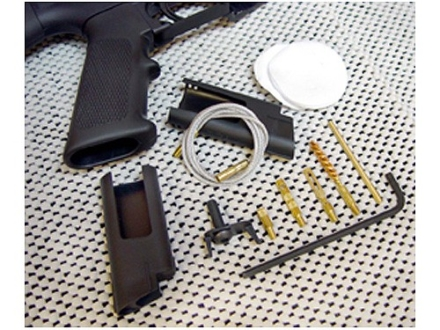 Otis Military Mil-Spec AR-15 Grip Rifle Cleaning Kit Anti-Glare Black 5.56mmx45 NATO/223 Caliber