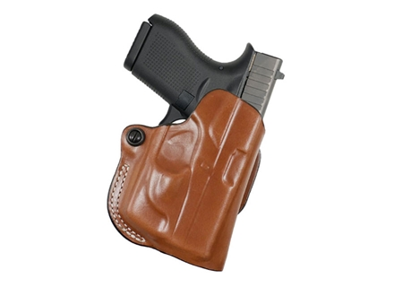 DeSantis Thumb Break Scabbard Belt Holster Right Hand Smith & Wesson M&P Shield Leather Tan