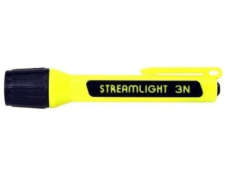 Streamlight 3N Propolymer Flashlight White LED Polymer Yellow