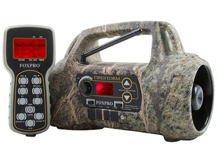 FoxPro Firestorm Electronic Predator Call with 50 Digital Sounds