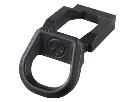 Magpul SGA Receiver End Plate Sling Mount Adapter for Magpul SGA Remington 870 Stock Ambidextrous Loop Steel Melonite Black