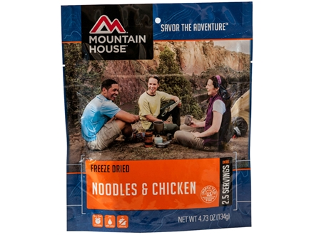 Mountain House Noodles and Chicken Freeze Dried Meal 4.7 oz