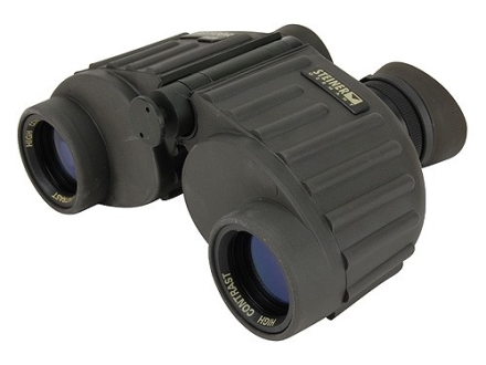 Steiner Predator Binocular 8x 30mm Porro Prism Rubber Armored Green