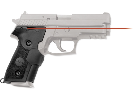 Crimson Trace Lasergrips Sig P228, P229 Overmolded Rubber Black