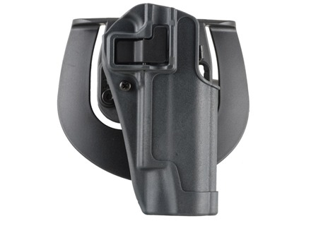 BlackHawk Serpa Sportster Paddle Holster Right Hand Glock 19, 23, 32, 36 Polymer Gun Metal Gray