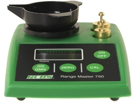 RCBS RangeMaster 750 Electronic Powder Scale 750 Grain Capacity 220 Volt
