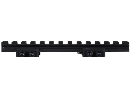 Badger Ordnance Extended Picatinny-Style 22 MOA Elevated Riser Mount 5-3/8&quot; AR-15 Flat-Top Matte