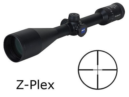 Zeiss MC Conquest Rifle Scope 4.5-14x 50mm Side Focus Z-Plex Reticle Matte