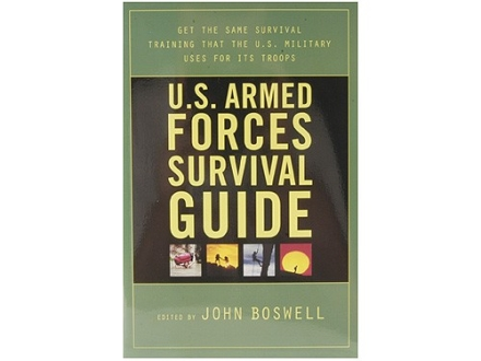 """U.S. Armed Forces Survival Guide"" Book by John Boswell"