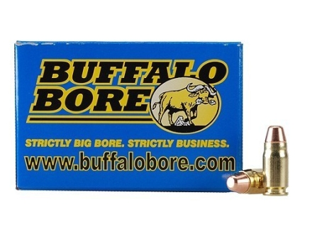 Buffalo Bore Ammunition 357 Sig 125 Grain Full Metal Jacket Box of 20