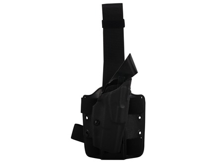 Safariland 6354 ALS Tactical Drop Leg Holster Right Hand Smith &amp; Wesson M&amp;P 9mm, 40 S&amp;W Polymer Black