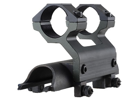 Leapers UTG 5th Generation High-Profile Mount with Integral 1&quot; See-Thru Rings SKS Matte