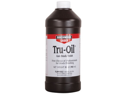 Birchwood Casey Tru-Oil Gunstock Finish 32 oz Liquid
