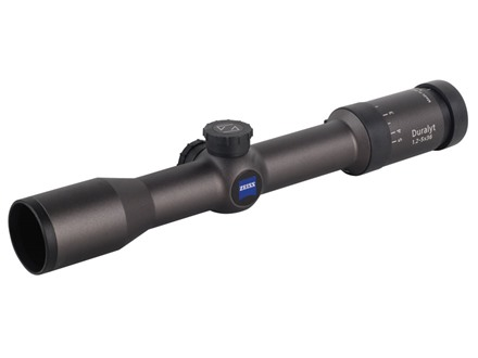Zeiss Conquest Duralyt Rifle Scope 1.2-5x 36mm #6 Reticle Gray