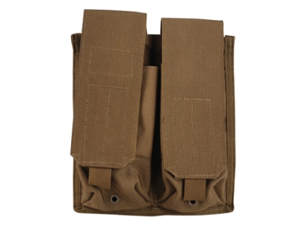 Blackhawk S.T.R.I.K.E. MOLLE AK-47 Double Magazine Pouch Holds 4 AK-47 30 Round Magazines Nylon