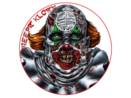 "Lyman Zombie Dot Kreepy Klown Target 8"" Self-Adhesive Package of 10"