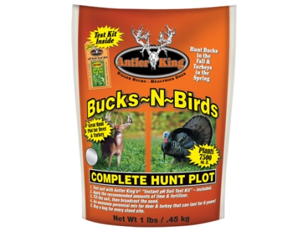 Antler King Bucks-N-Birds Complete Hunt Perennial Food Plot Seed 1 lb
