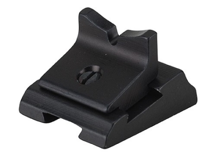 Williams Rear Sight Blade U Notch 1/4&quot; Height Aluminum Black