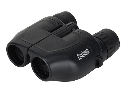 Bushnell Powerview Binocular 7-15x 25mm Compact Porro Prism Rubber Armored Black