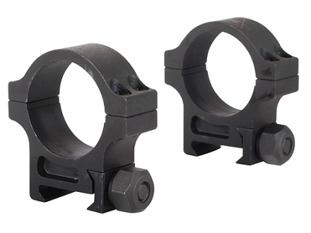 Trijicon 30mm Accupoint Steel Picatinny-Style Rings Matte Medium
