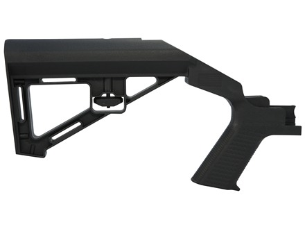 Slide Fire SSAR-15 SBS (Standard Battle Stock) Bump-Fire Stock AR-15 Mil-Spec Diameter Right Hand Polymer Black