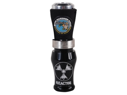 Buck Gardner Brad&#39;s Reactor Acrylic with Aluminum Insert Duck Call Black Pearl/Aluminum