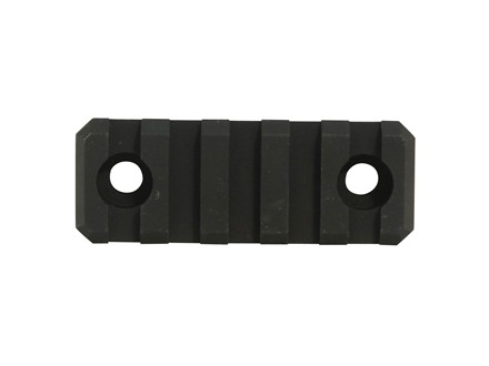 Troy Industries 2&quot; Modular Rail Section for TRX Extreme, Alpha Rail Handguards AR-15 Aluminum Black