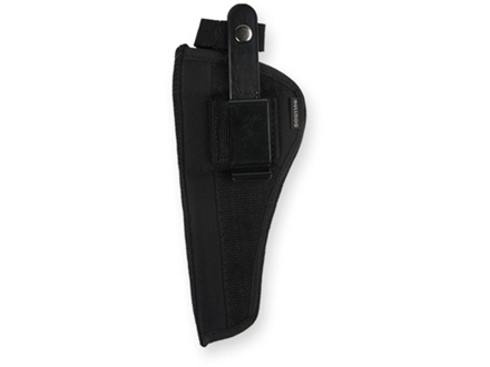 "Bulldog Extreme Belt and Clip Holster Ambidextrous S&W J Frames with Shrouded Hammer 2"" to 2.5"" Barrel Nylon Black"
