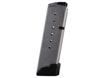 Kahr Magazine Kahr CM40, CW40, K40, MK40, P40, PM40 40 S&W 7-Round Stainless Steel with Grip Extension