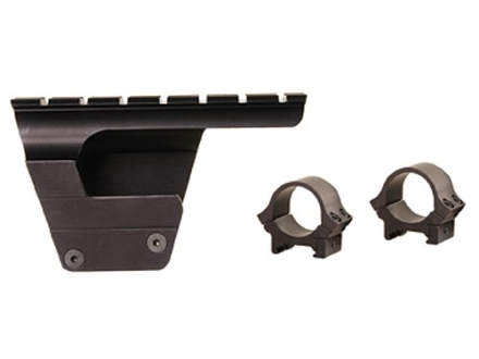 "B-Square Military Weaver-Style Scope Base with 1"" Rings AK-47 and MAK-90 Receiver Mount Gloss"