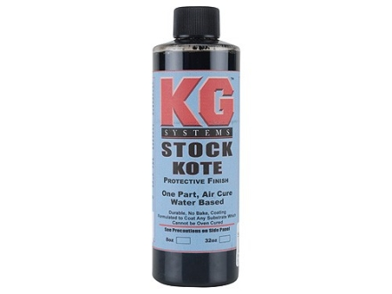 KG Gun Kote Air Cure 1200 Series Satin Black 8 oz
