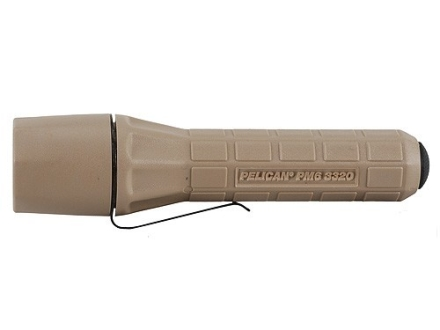 Pelican 3330 Flashlight White LED Polymer Desert Tan