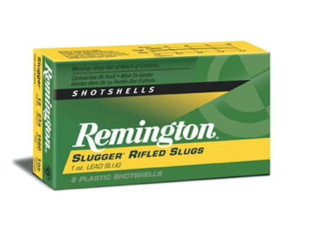 Remington Slugger Ammunition 12 Gauge 2-3/4&quot; 1 oz Rifled Slug Box of 5