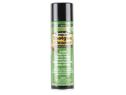 Remington Shotgun Cleaner Bore Cleaning Solvent 18 oz Aerosol