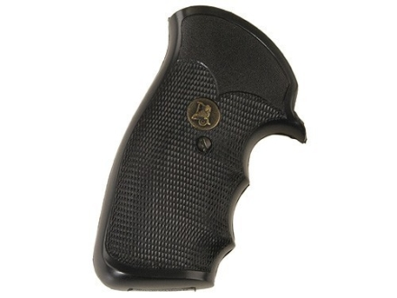Pachmayr Gripper Grips with Finger Grooves Ruger GP100 Rubber Black