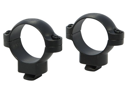 "Leupold 1"" Dual-Dovetail Rings Matte Medium"