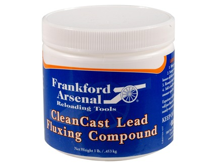 Frankford Arsenal CleanCast Lead Fluxing Compound 1 lb