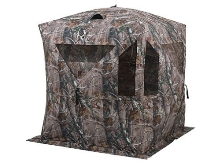 Ameristep Bone Collector Ground Blind 75&quot; x 75&quot; x 69&quot; Polyester Realtree AP Camo